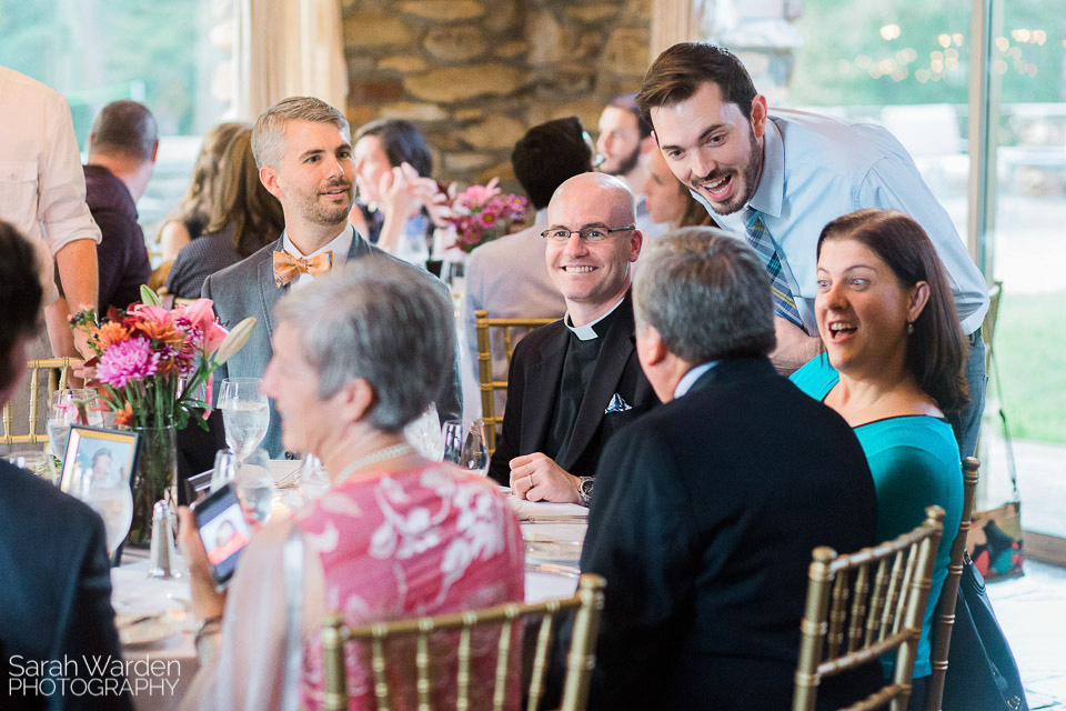 Groom and Guests at Graylyn Estate