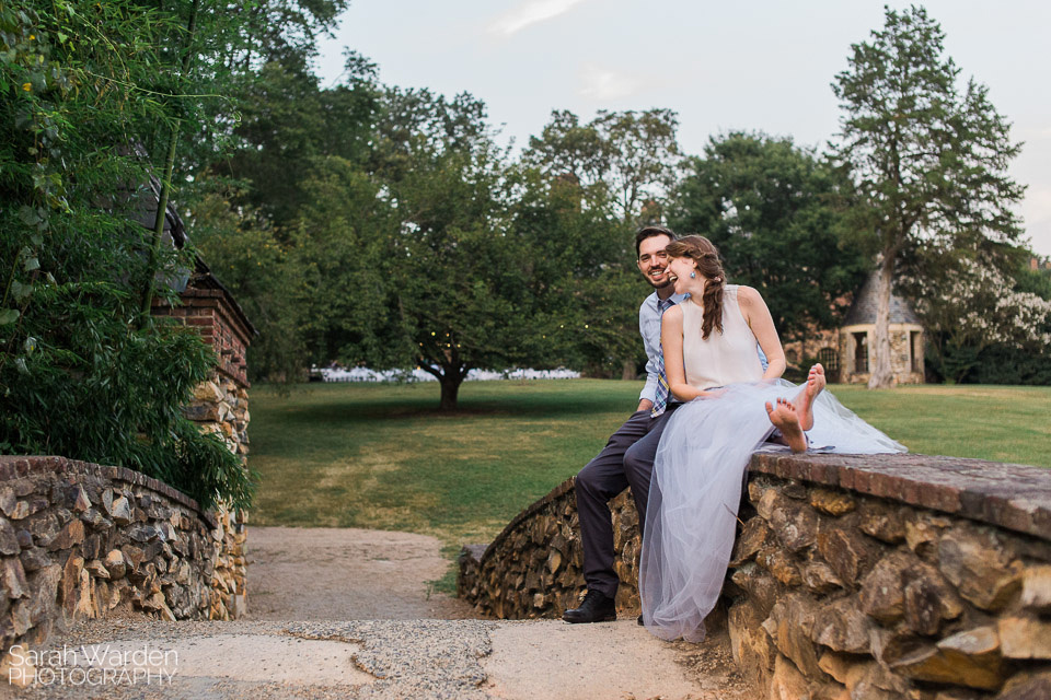 Engagement Photos at Graylyn Estate