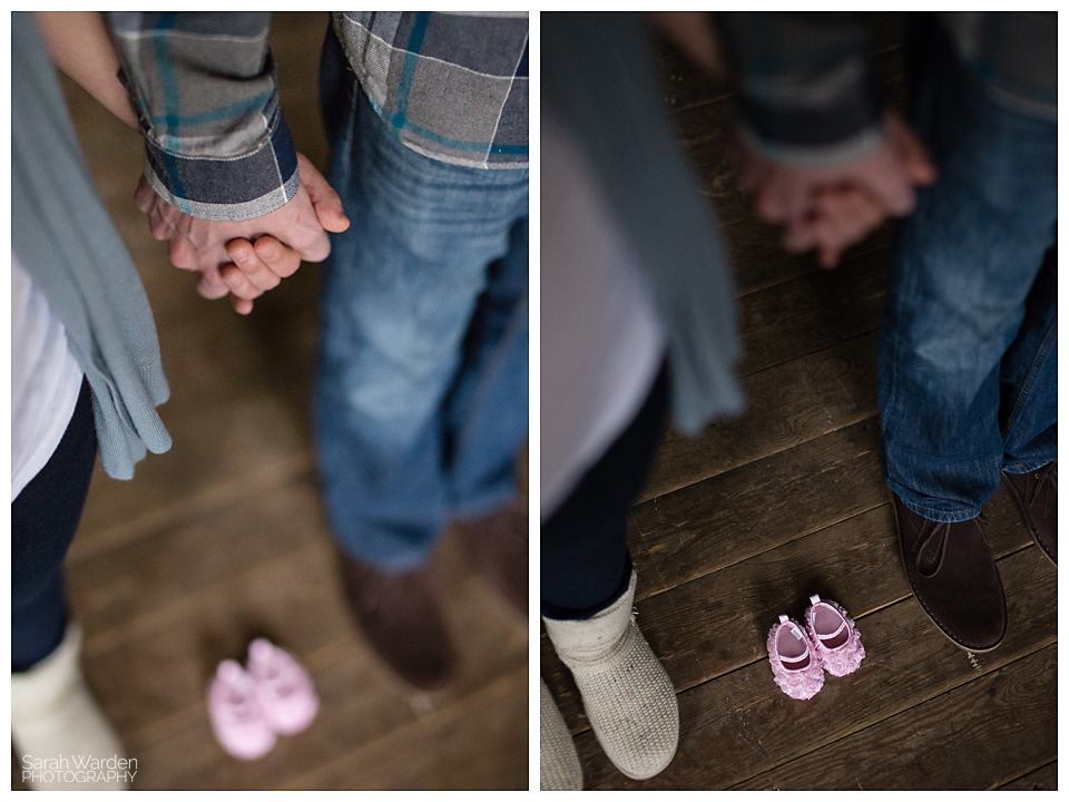 Maternity photos in rural hall, nc