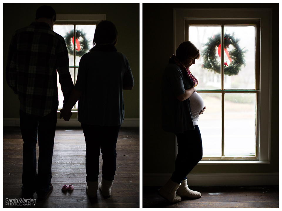 Rural Hall Maternity Photoshoot