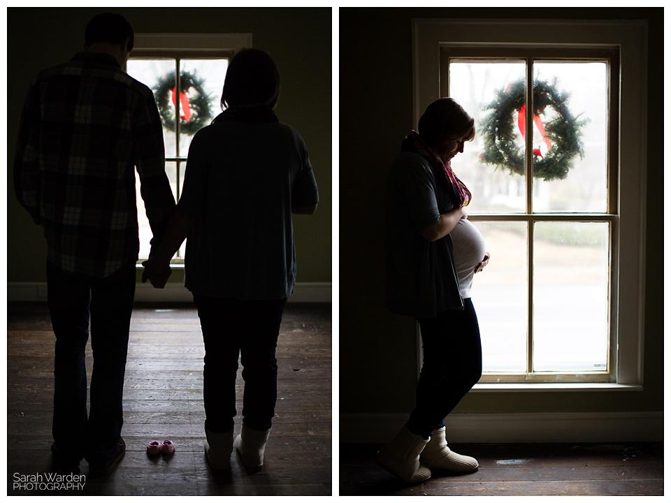 Rural Hall Maternity Photoshoot