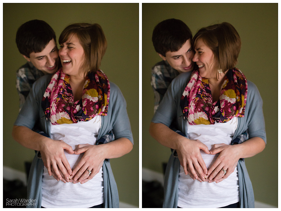 maternity photo shoot in rural hall, nc